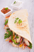 Tortilla wrap — Stock Photo