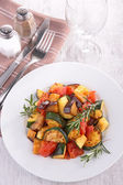 Tasty ratatouille — Stock Photo