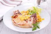 Pork chop — Stock Photo