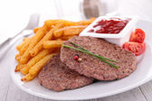 Beefsteak — Stock Photo