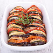 Vegetable tian — Stock Photo