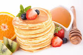 Tasty pancake — Stock Photo
