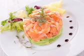 Tartare de saumon — Photo