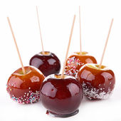 Caramel apples — Stock Photo