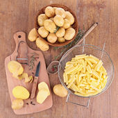 Raw potato — Stock Photo