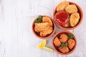 Appetizer,tapas — Stock Photo