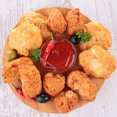 Tapas appetizers — Stock Photo