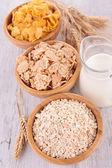Assortment of cereals — Stock Photo
