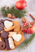 Assortment of biscuit — Stock Photo