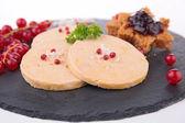 Tasty foie gras — Stock Photo