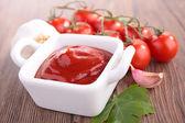 Ketchup close up — Foto Stock