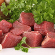 Raw meat beef — Stock Photo #9484354