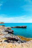 Rock and sea in the Mediterranean — Stock Photo