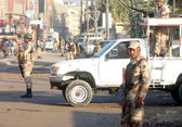 Targeted search operation against terrorists and miscreants in Mehmoodabad area — Stock Photo