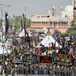 Chehlum Procession (Fortieth Day Mourning Commemoration) of Hazrat Imam Hussain  (A.S), — Stock Photo