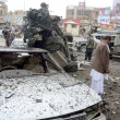 Stock Photo: Eleven killed in bomb blast at BachKhChowk in Quetta