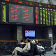 KSE crashed 570 points on Tuesday after Supreme Court of Pakistordered to arrest Prime Minister RajPervez Ashraf — Stock Photo #18801335