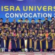 Group photo of successful students on occasion of annual convention of IsrUniversity — Foto de stock #19428857