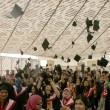 Annual Convocation 2013, held at Valika Ground in Karachi — Stock Photo