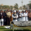 Stock Photo: Offer funeral prayer of Provincial Sports Minister Dr. Muhammad Ali Shah at Asghar Ali Shah Stadium