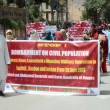 Stock Photo: Relatives of missing persons are protesting for recovery of their loves ones during protest demonstration organized by Baloch HumRights Organization