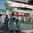 Postmen are busy in their work in post on occasion of World Post Day at Post office building in Quetta — Stockfoto #32985043