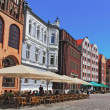 Stralsund Marketplace — Stock Photo