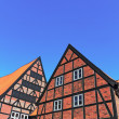 Stock Photo: Half Timbered Houses