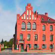 City Hall Storkow - Stock Photo