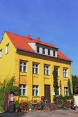 Yellow House — Stock Photo