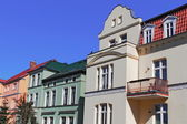 Renovated Old Buildings — Stock Photo