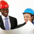 Construction Managers - Stock Photo