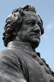 Goethe Sculpture — Stock Photo