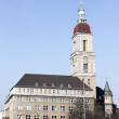 Berlin Town Hall Friedenau - Berlin Town Hall Friedenau, Germany — Stock Photo #25182159