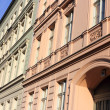 Stock Photo: Renovated old building facades in Berlin
