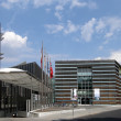 Nordic Embassies in Berlin, Germany - Stock Photo