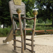 Stock Photo: Children's throne on playground in Berlin