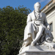 Alexander von Humboldt in front of University — Stock Photo #25182767
