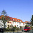 Stock Photo: Housing estate in Berlin, Germany