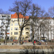 Berlin city idyll — Stock Photo