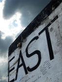 öst - resterna av berlinmuren, tyskland — Stockfoto