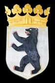 Coat of arms of Berlin, Germany — Stock Photo