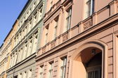 Renovated old building facades in Berlin — Stock Photo