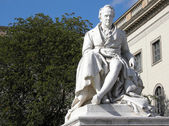 Alexander von Humboldt in front of University — Stock Photo