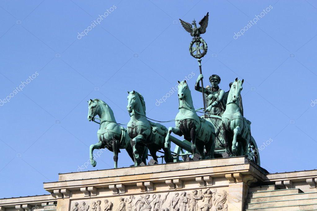 Brandenburg Gate Quadriga Quadriga of Brandenburg Gate