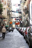 Old Town Street in Naples, Italy — Stock Photo