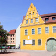 Stock Photo: Christian-Wolff-Haus in Halle (Saale), Germany