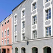 Stock Photo: Renovated old buildings in Passau, Germany