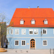 Memmingen Blue House in Germany — Stock Photo #25274551