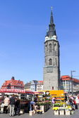 Market Place in Halle (Saale), Germany — Stock Photo